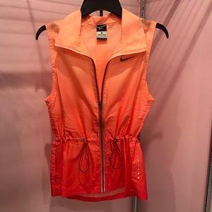 Nike ombre running vest